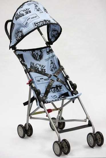 John Waters, Bill's Stroller (2014) Photo: Courtesy the artist and Marianne Boesky Gallery.
