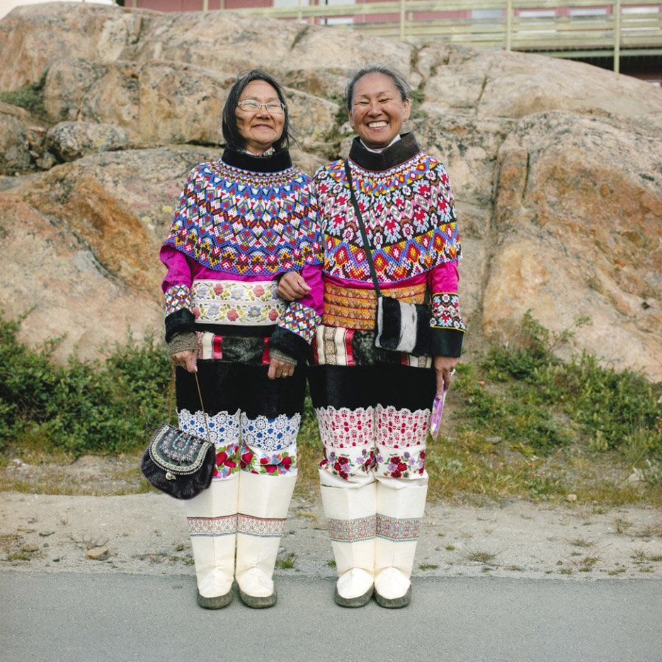 Life on the line. Dorte and Ellen, Greenland, 2013