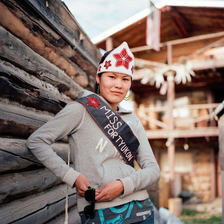 Life on the line. Chasity Herbert. Fort Yukon, Alaska, 2009