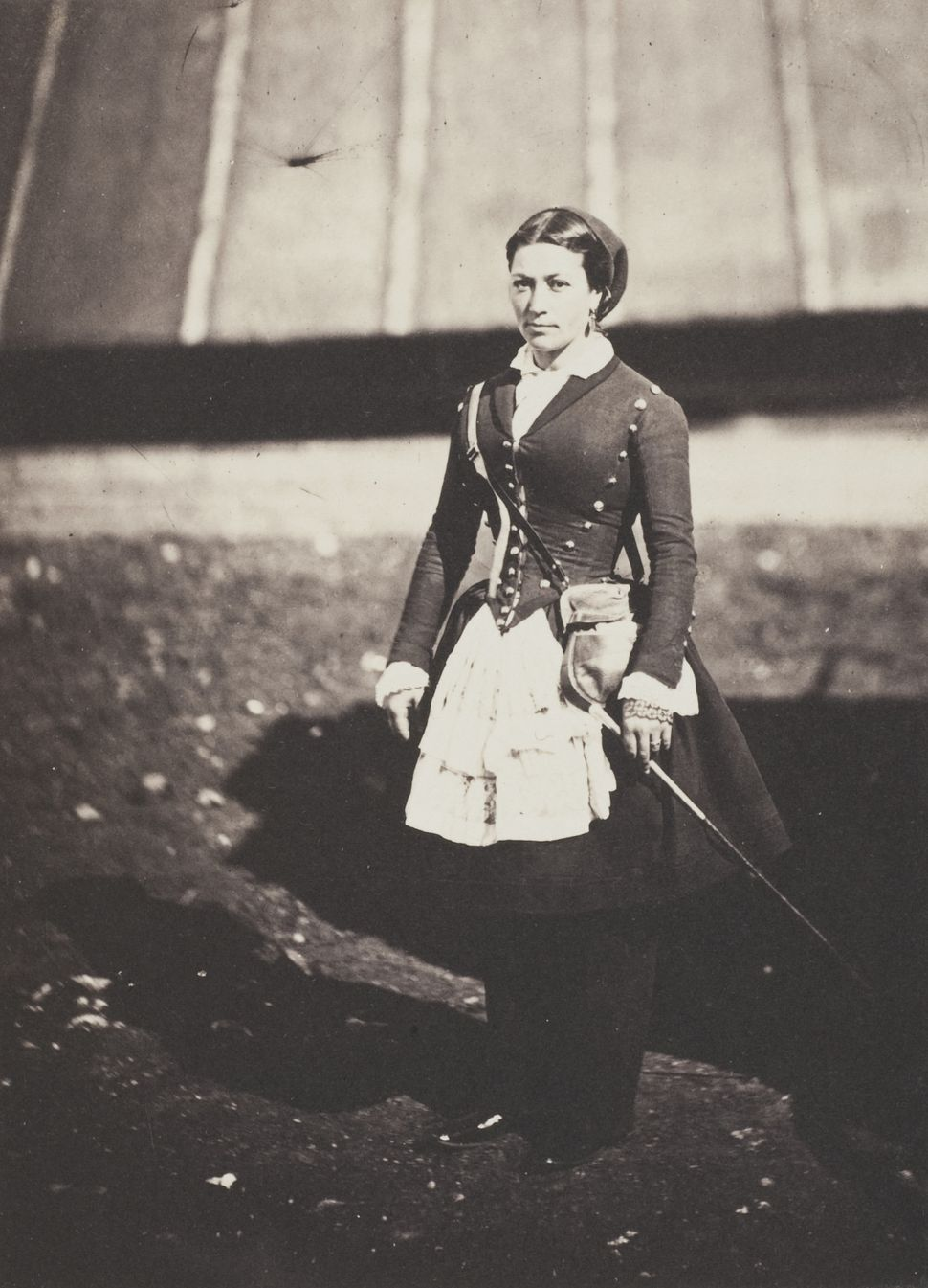 Roger Fenton Cantiniére 1855 Photograph, salted paper print from a glass plate negative © Wilson Centre for Photography