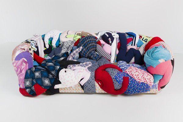 Aiko Hachisuka, Couch (2011).  Photo: Courtesy of Eleven Rivington Gallery.