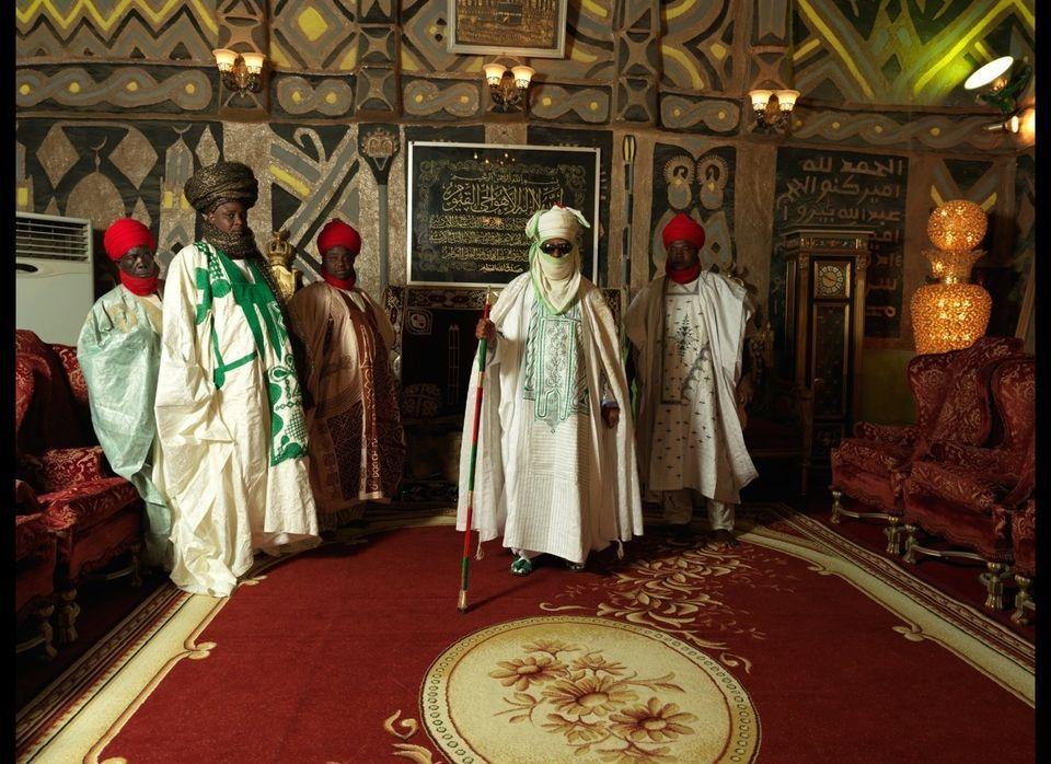 George Osodi, <em>HRM The Emir of Kano Alhaji Ado Bayero</em> (2012) Fuji Crystal Archive (C Type) 120 x 160 cm (47.2 x 63