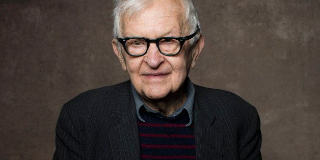 FILE - In this Jan. 21, 2013 file photo, filmmaker Albert Maysles poses for a portrait during the 2013 Sundance Film Festival