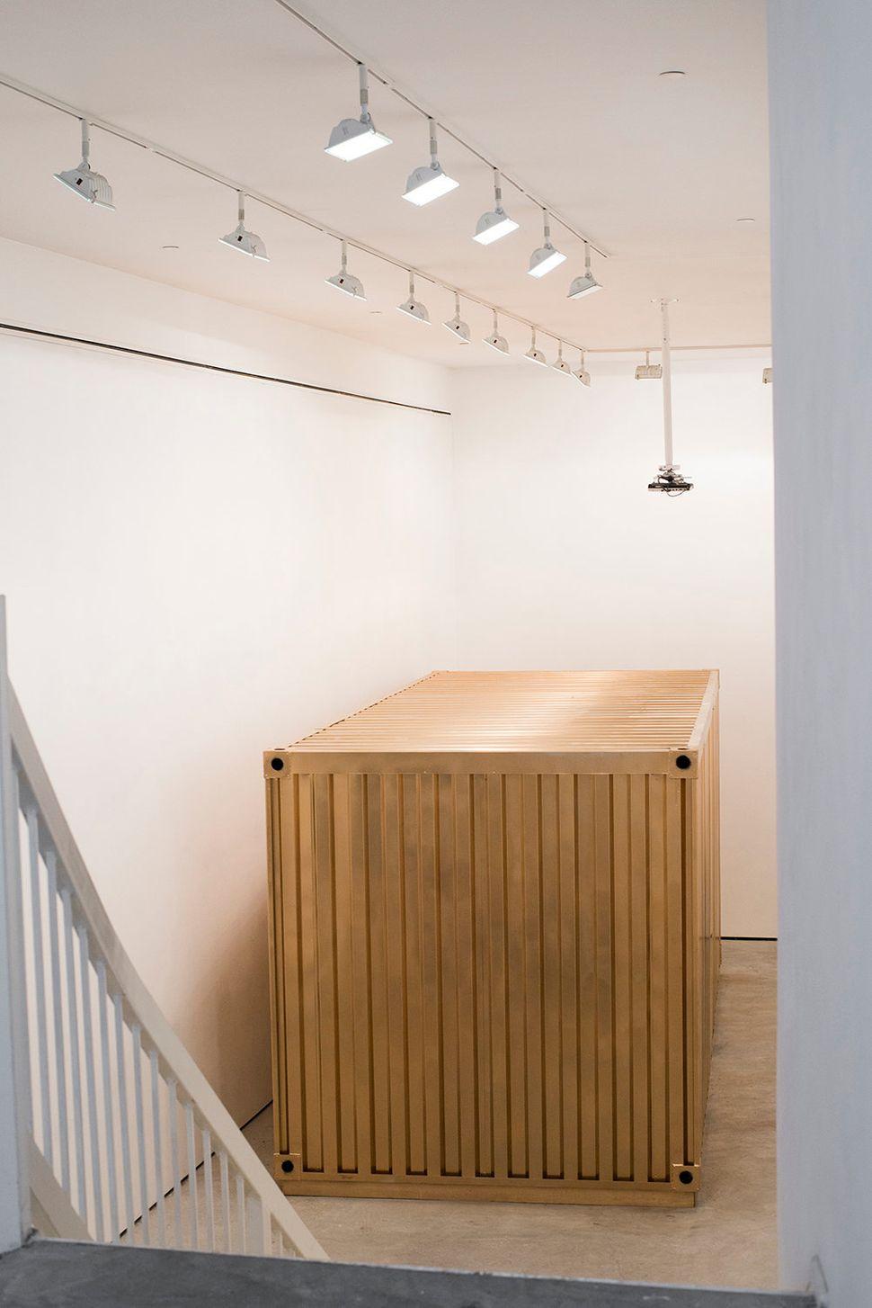 The indoor Portal at the Lu Magnus art gallery in New York City in December 2015