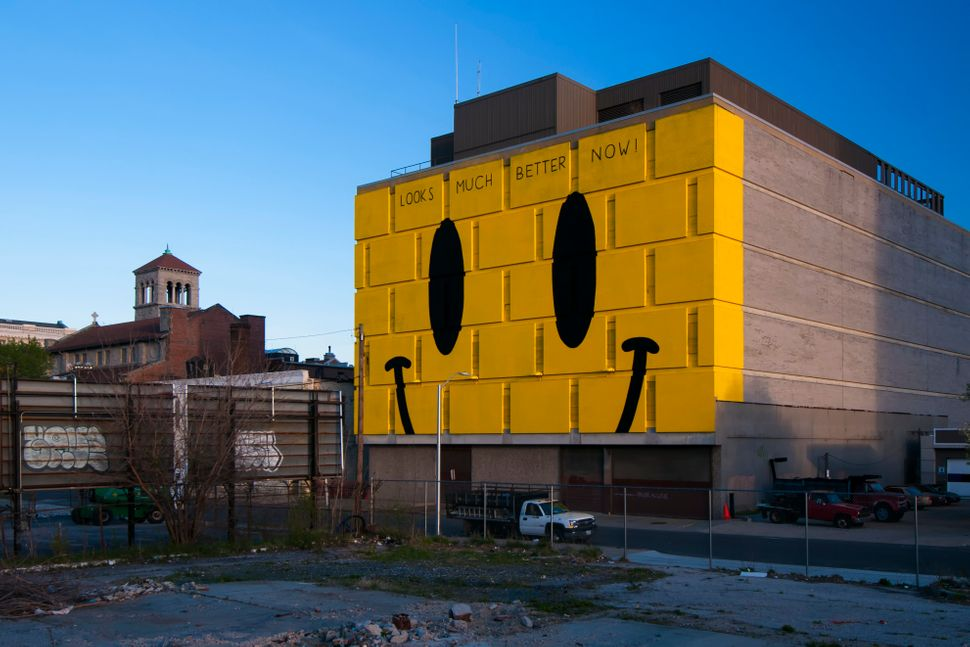 Mural by Escif. Photo by David Muse. Baltimore, MD. Station North Arts & Entertainment.