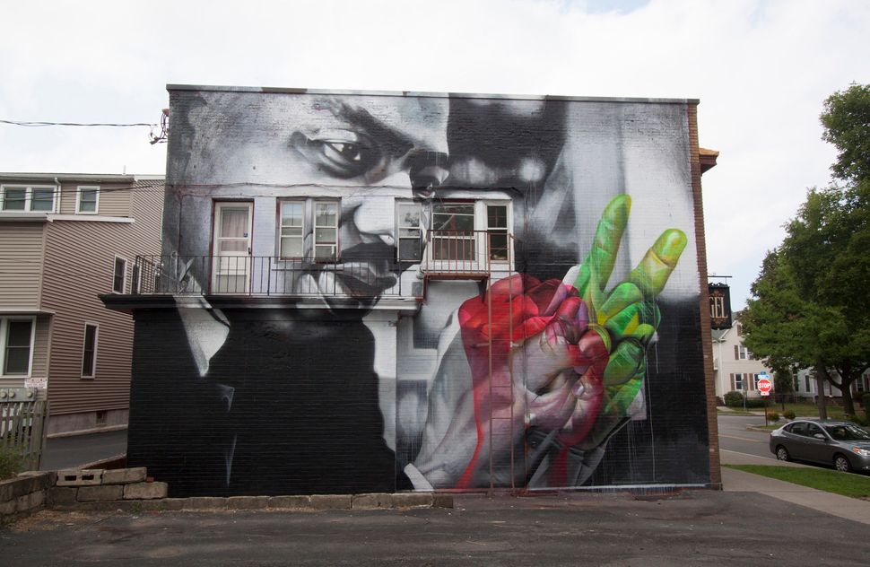 "Case, ""Martin Luther King, Jr."" ""Photo by Erich S. Lehman for WALL\THERAPY. ""Park Ave Neighborhood Rochester, NY. WALL/THERAP"