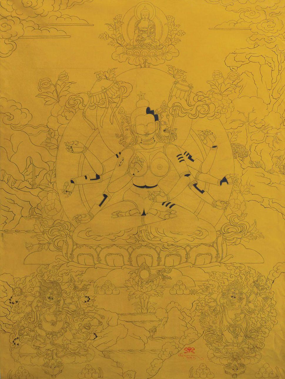 Jhamsang, Total Transformation of the Buddha