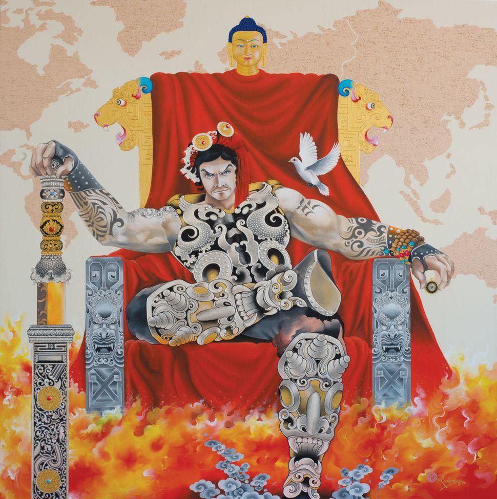 Rabkar Wangchuk, Peaceful Warrior