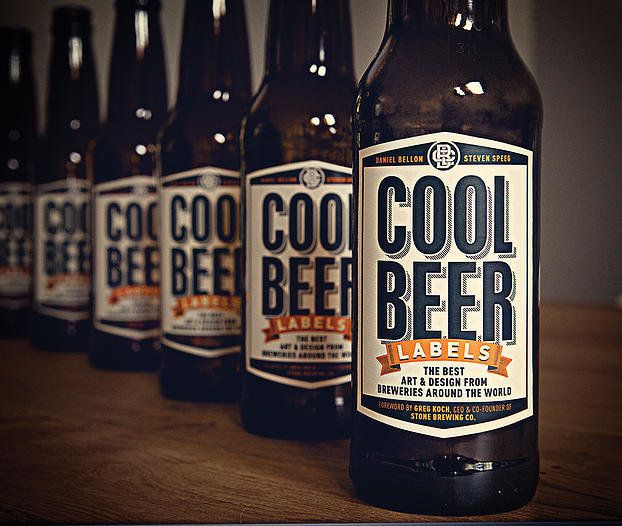 Cool Beer Labels Book Cover