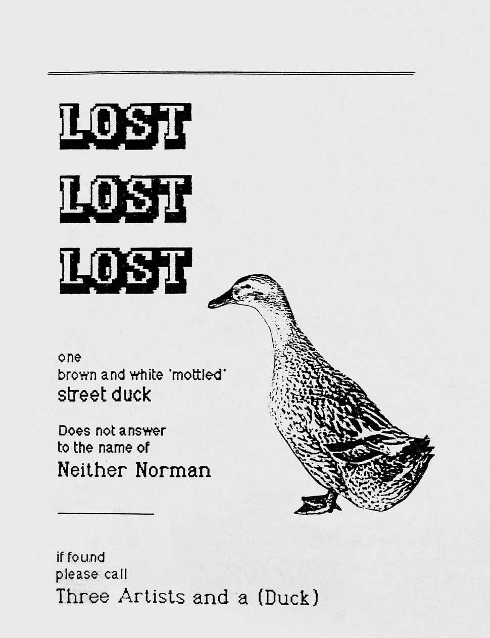 Lost: Lost and Found Pet Posters from Around the World by Ian Phillips. Published by Princeton Architectural Press, 2015.