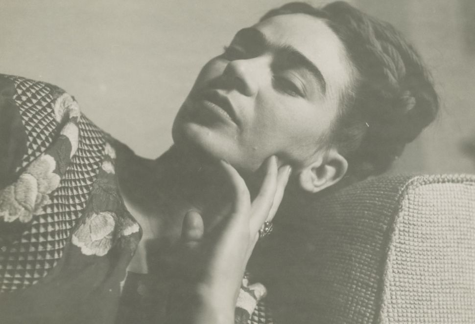 Anonymous image of Frida Kahlo resting, 1943 gelatin silver print 4