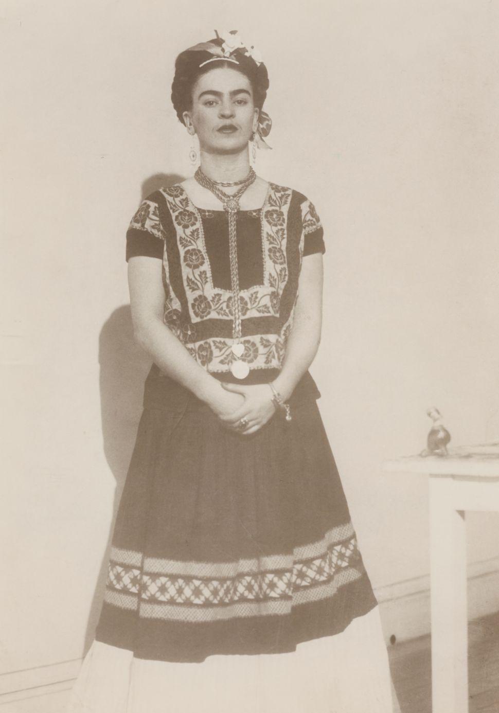 Dora Maar image of Frida Kahlo at Andre Breton, Paris, 1938-9 gelatin silver print 11
