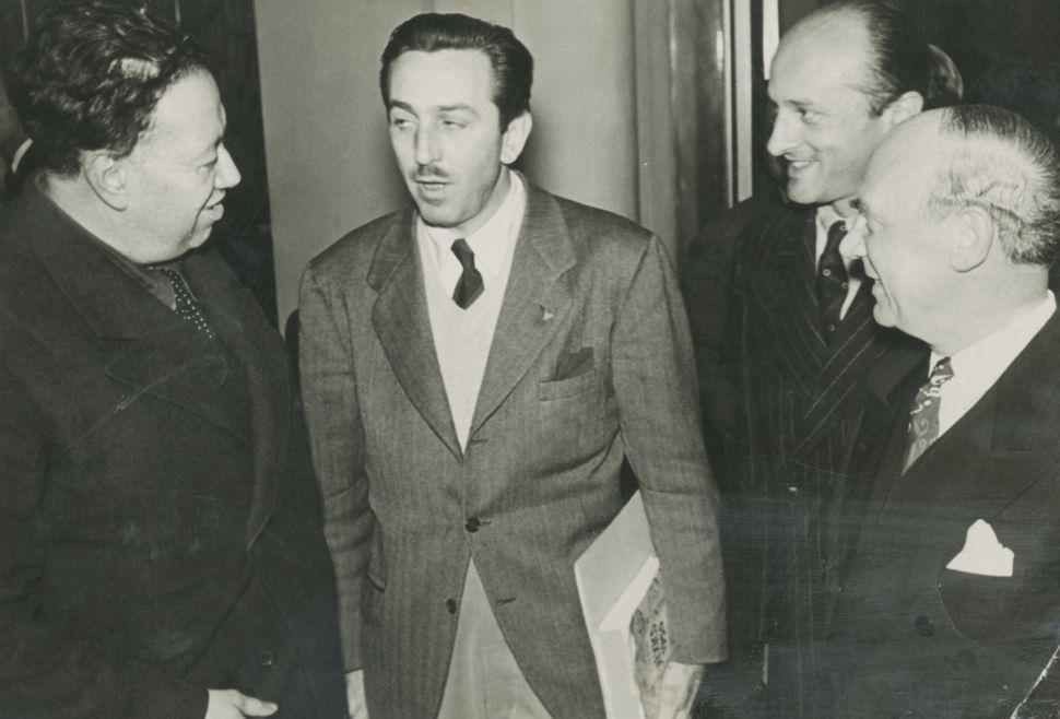Diego Rivera & Walt Disney