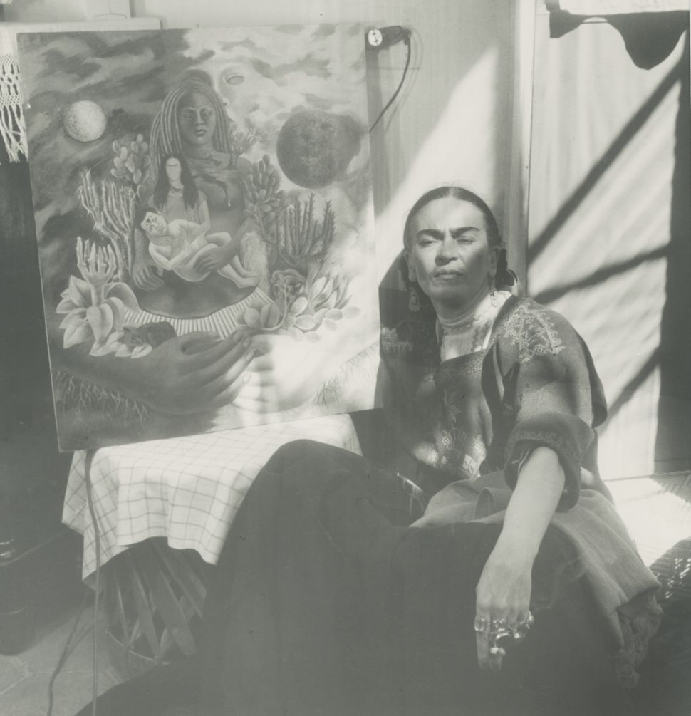 Frida by painting