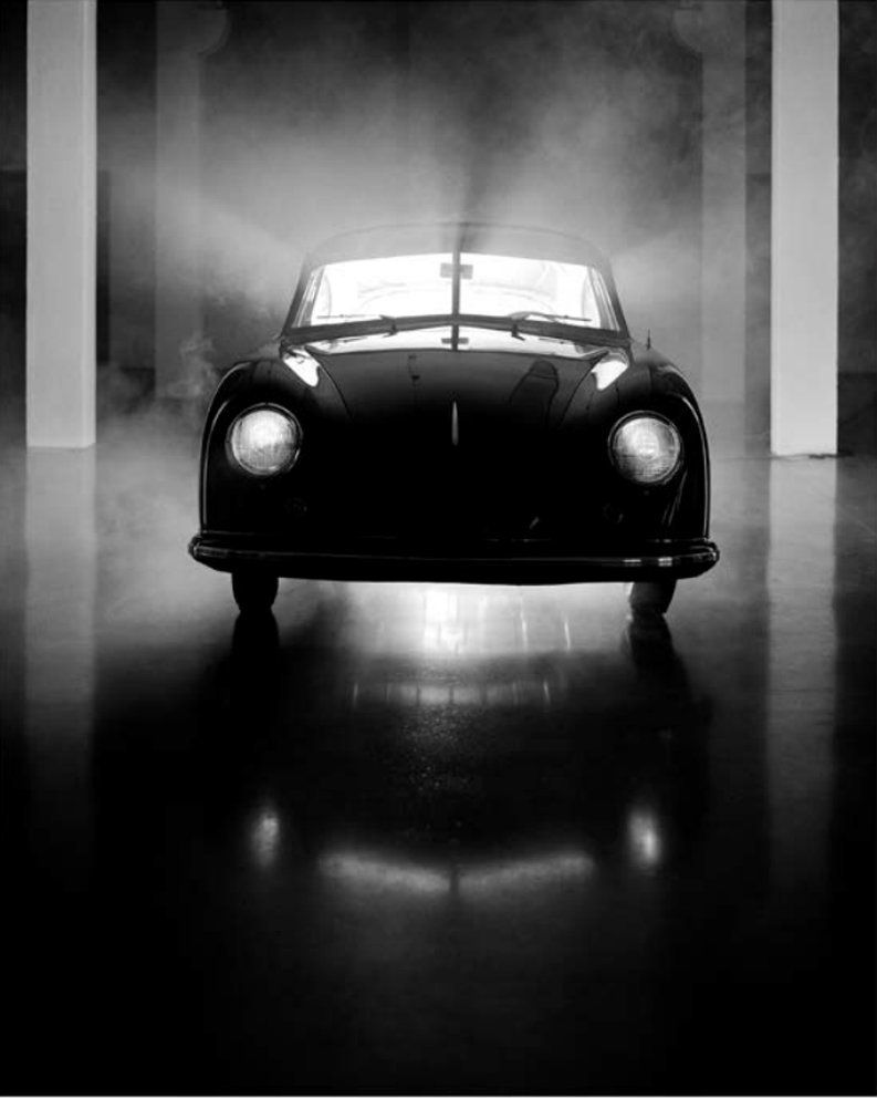 The oldest known model of Porsche 356 series, built in 1950