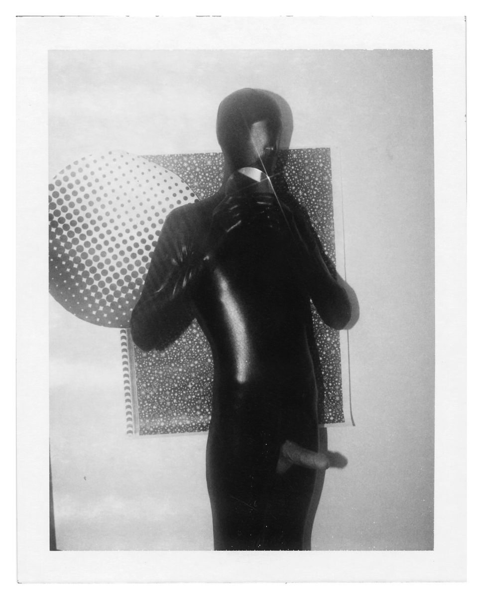 Benjamin Fredrickson, Anonymous  (Spandex), 2007, Polaroid. Courtesy  of the artist and Daniel Cooney Fine   Art, New York.
