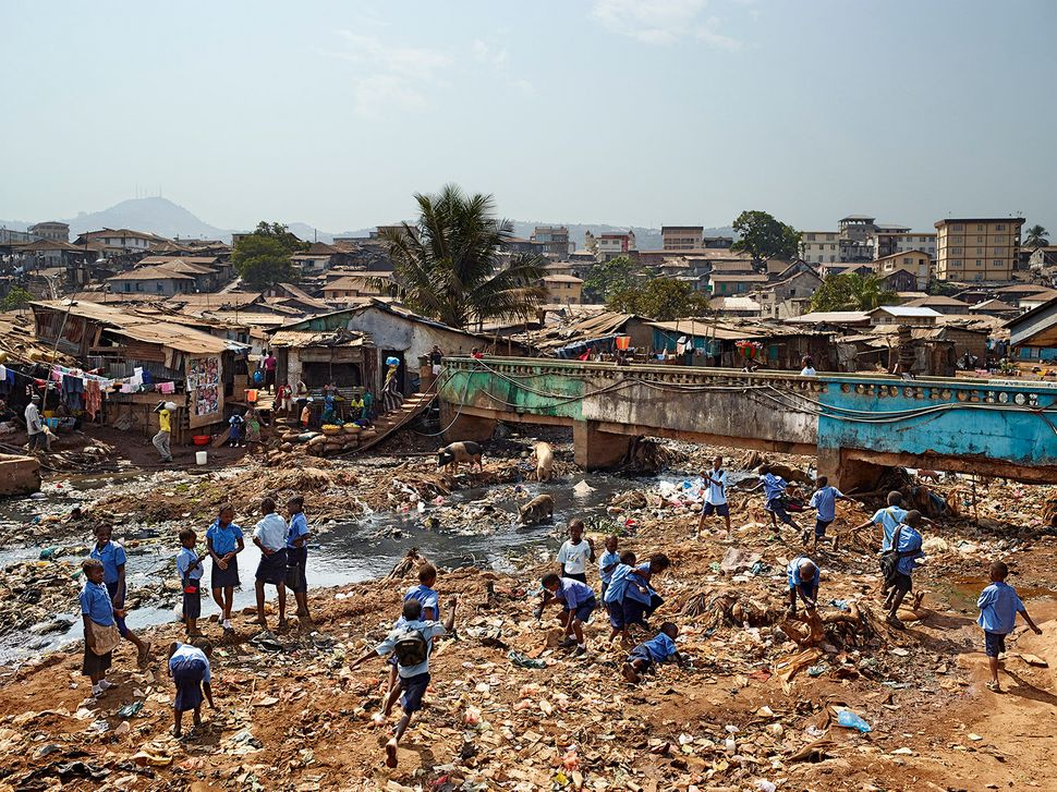 Ecole primaire Kroo Bay, Freetown, Sierra Leone