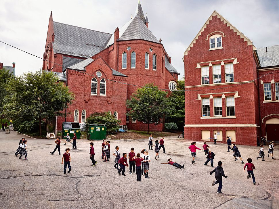 Ecole primaire St. Mary of the Assumption, Brookline, Massachusetts