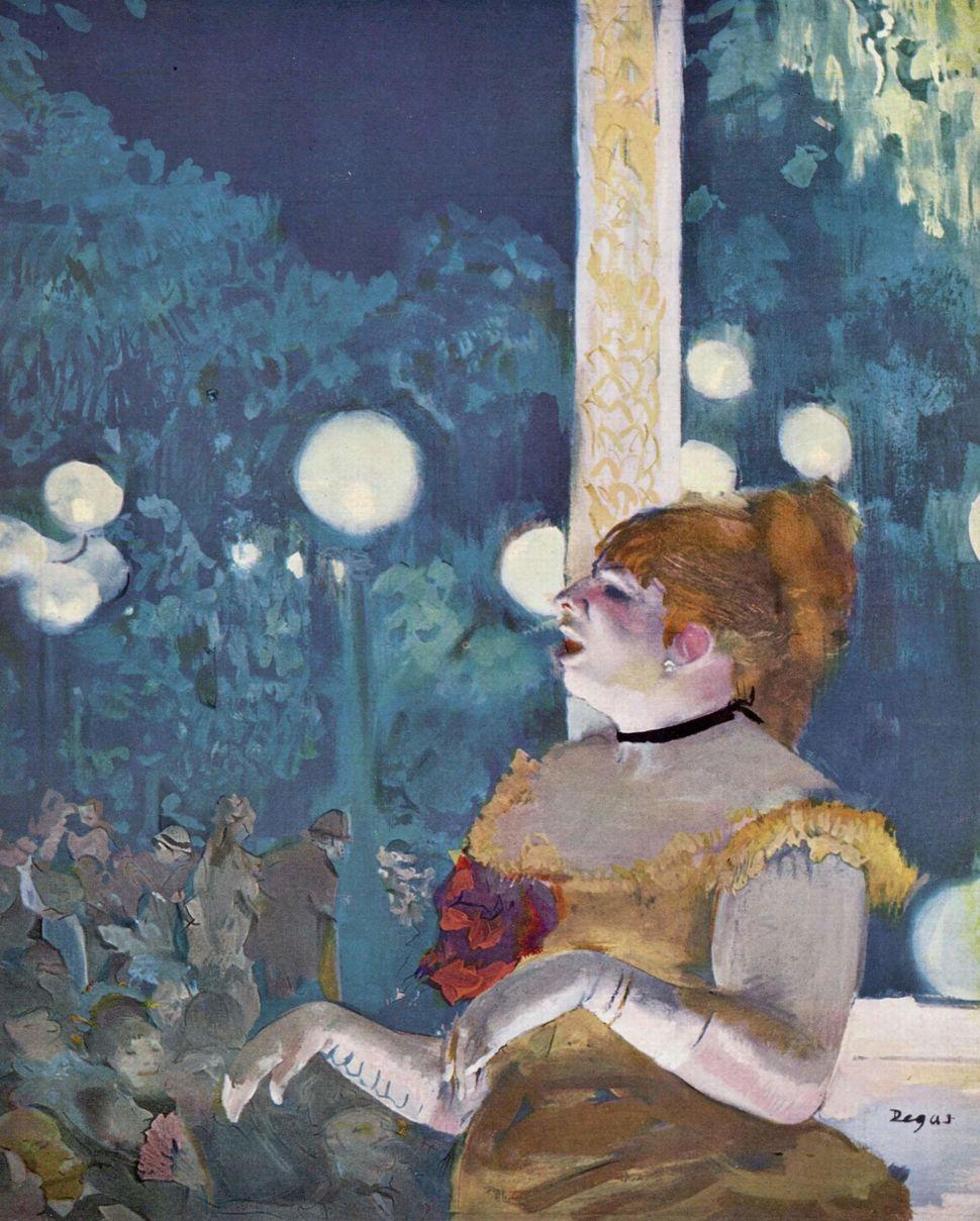 """Edward Degas, """"Au Café-Concert,"""" 1875-77"""