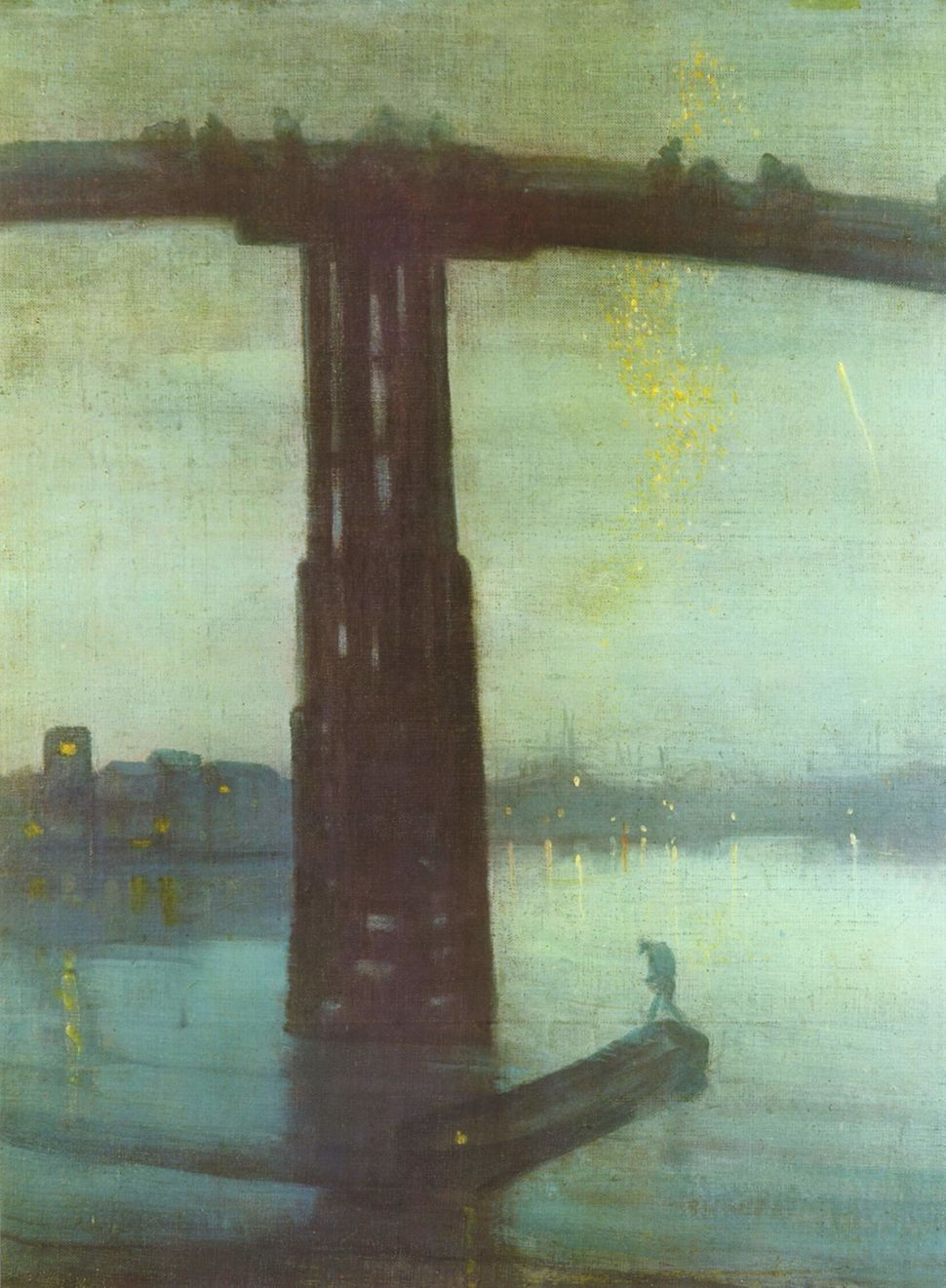 "James Abbott McNeill Whistler, ""Nocturne: Blue and Gold - Old Battersea Bridge,"" 1872"