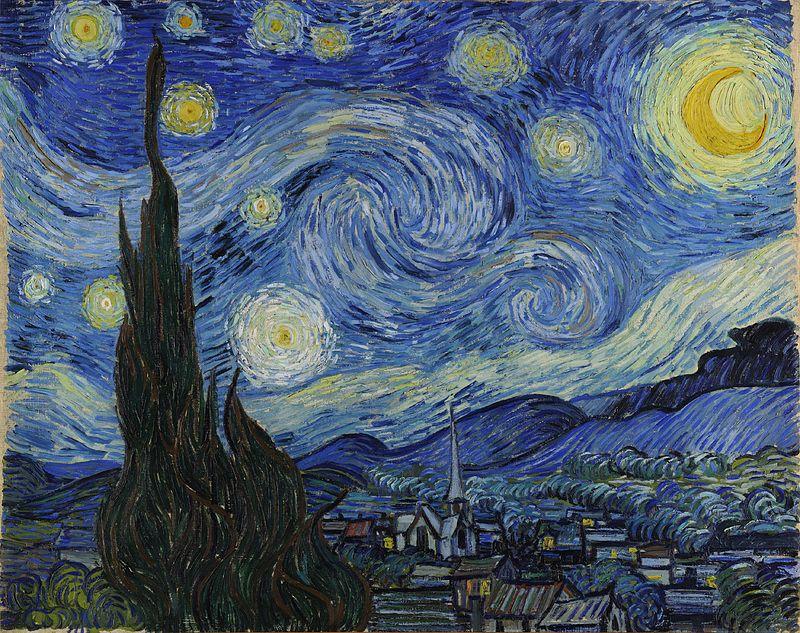 "Vincent van Gogh, ""Starry Night,"" 1889"