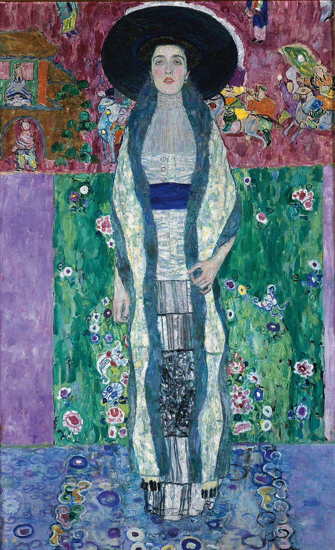 "Gustav Klimt, ""Portrait of Adele Bloch-Bauer II,"" 1912"