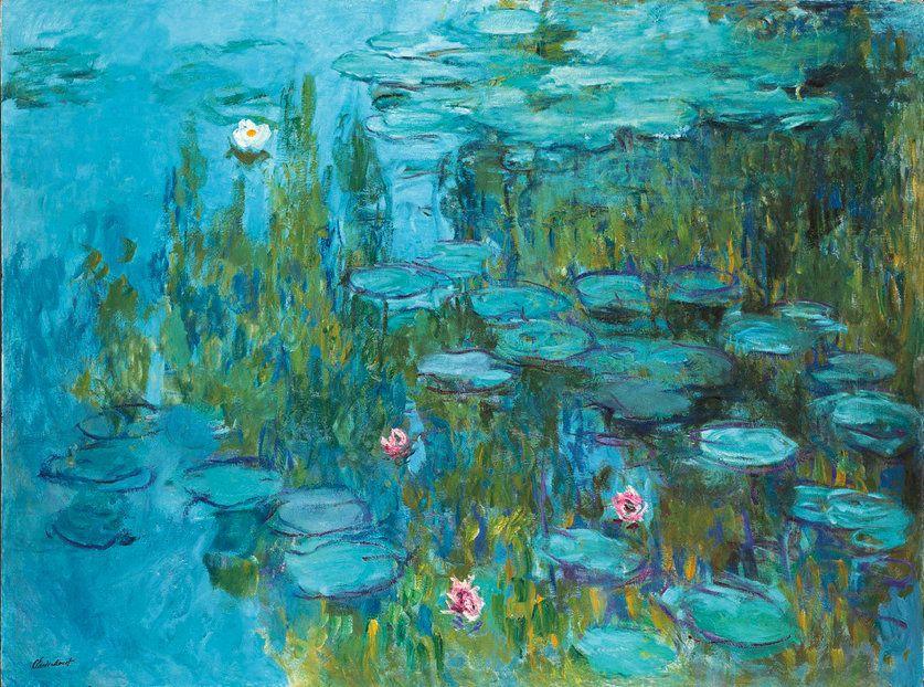 """Claude Monet, """"Water Lilies,"""" c. 1915"""