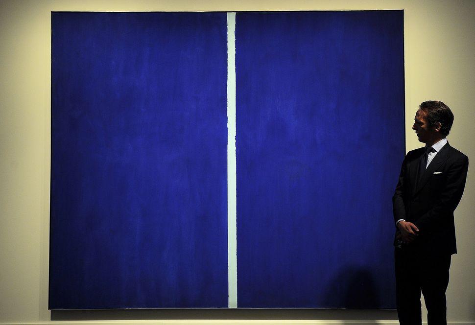 "Barnett Newman, ""Onement VI,"" 1953"