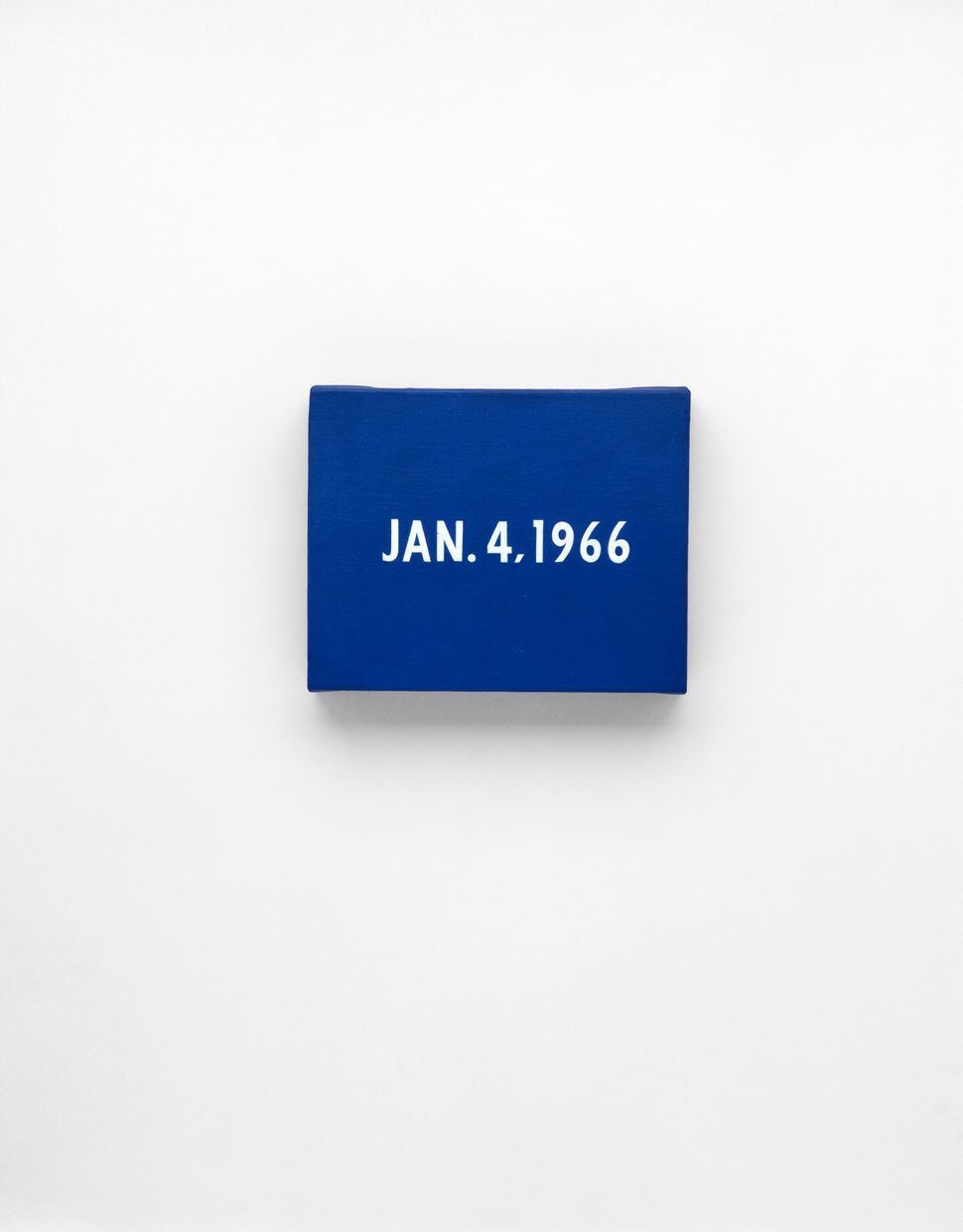 "On Kawara, ""New York's traffic strike,"" 1966 (<a href=""http://www.guggenheim.org/new-york/exhibitions/on-view/on-kawara-silen"