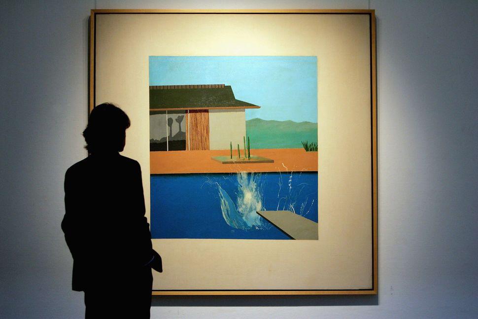 "David Hockney, ""Splash,"" 1966"