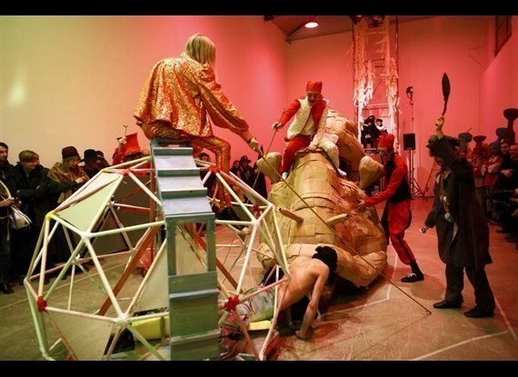Spartacus Chetwynd, The Snail Race, 2008