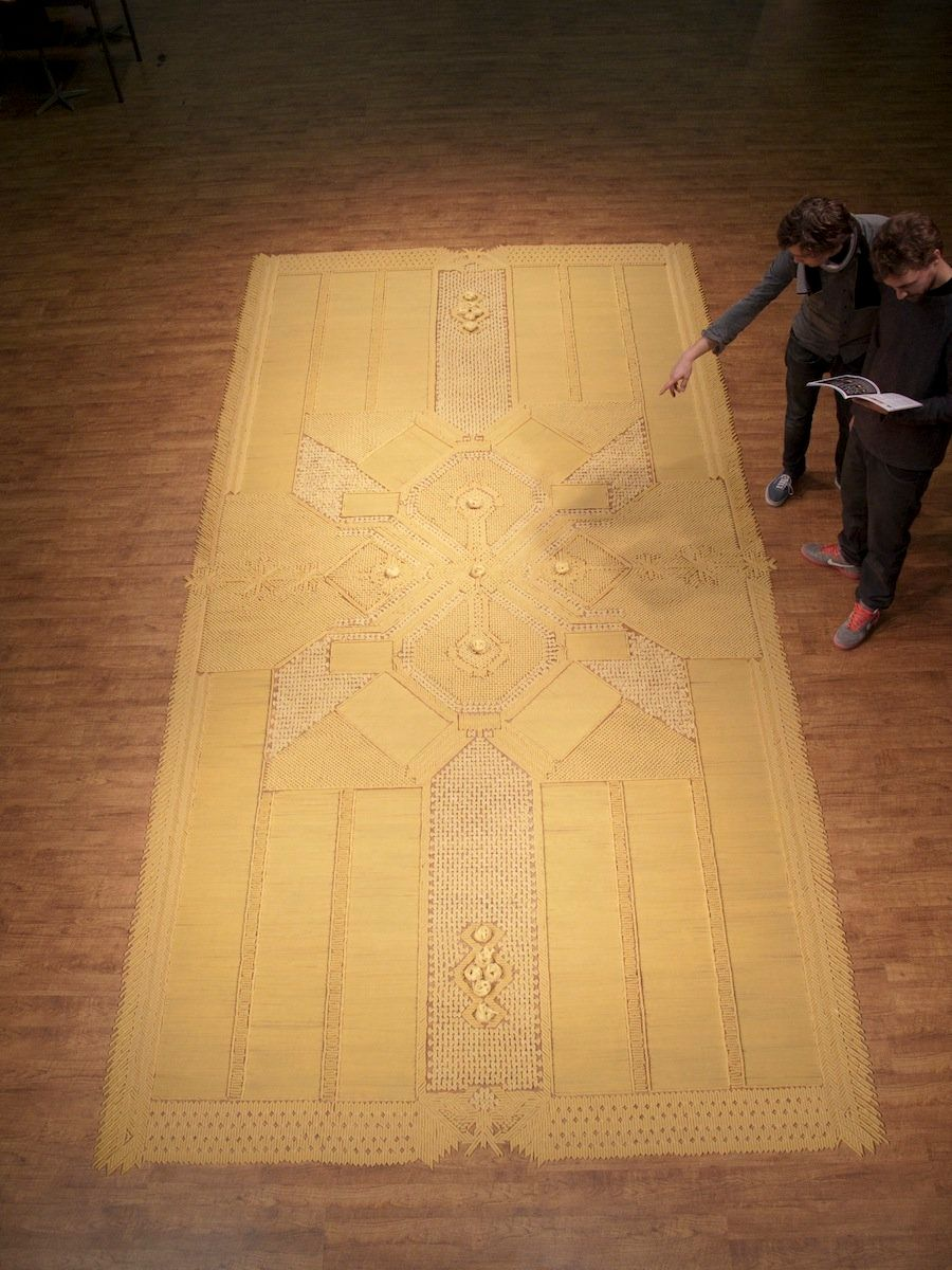 Pasta carpet Amy Kouwenhoven