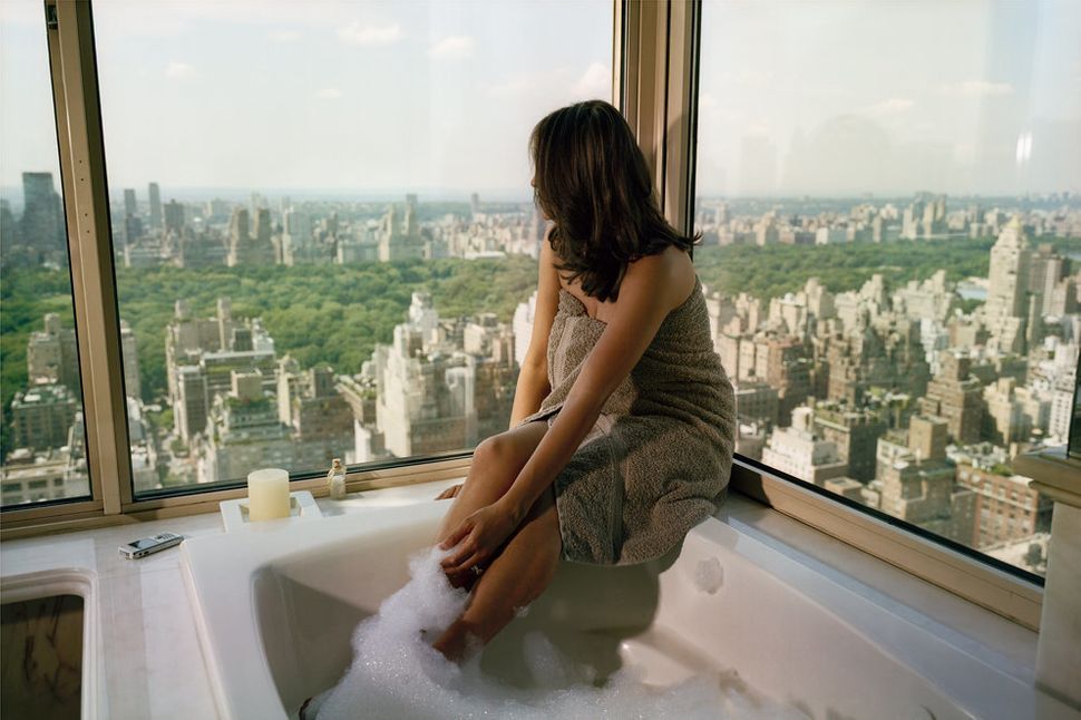 Upper East Side, Bubbles, 2007 (Courtesy Galerie Esther Woerdehoff)