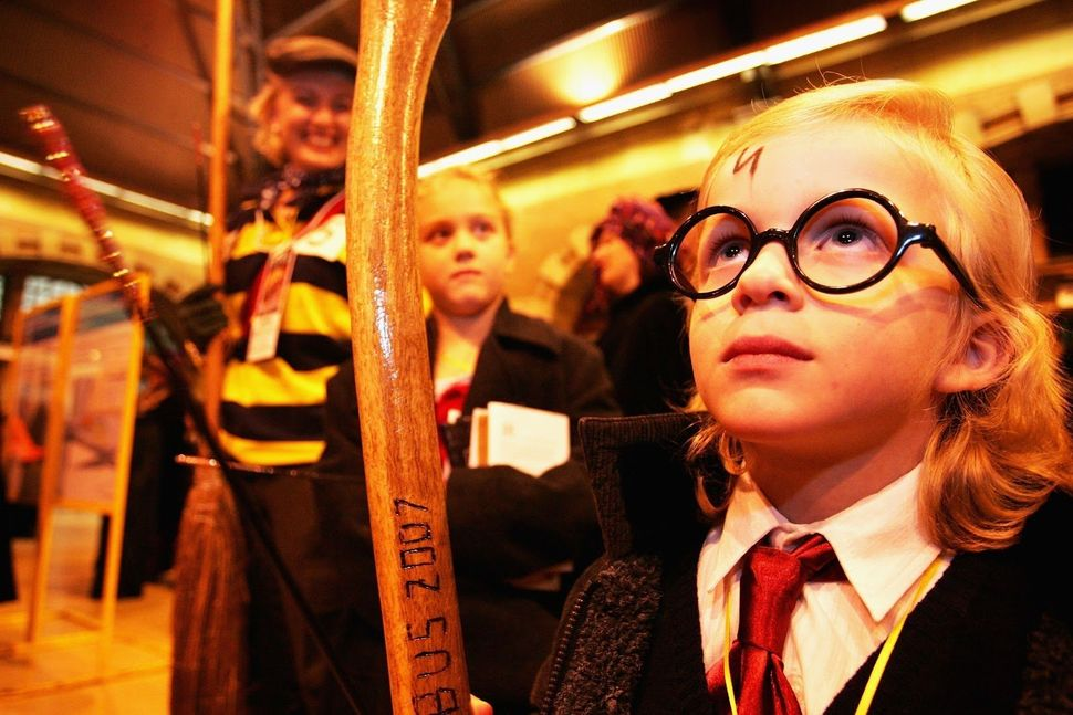Harry Potter fans prepared to take a steam train from Australia's Sydney Central Station to a secret location for the much an