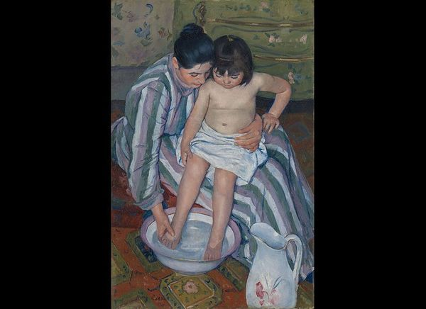 "Mary Cassatt, ""The Bath,"" 1893"
