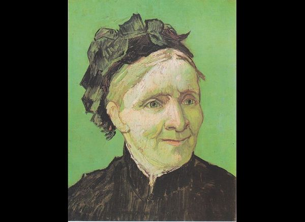 "Vincent Van Gogh, ""Portrait of the artist's mother,"" 1888, oil on canvas"