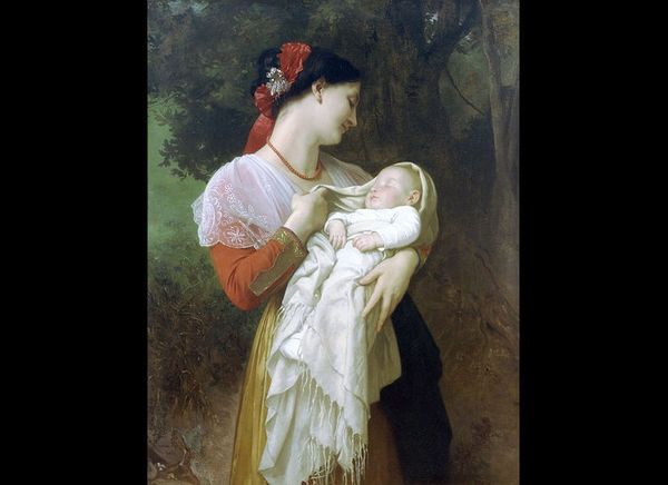"Adolphe Bouguereau, ""Maternal Admiration,"" 1869"