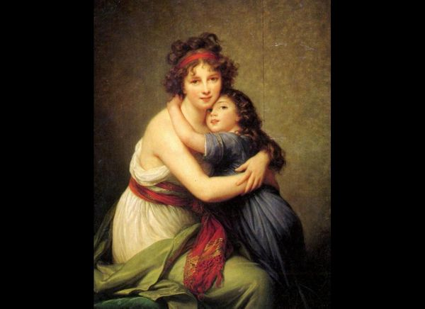 "Élisabeth Louise Vigée Le Brun, ""Mother and Daughter,"" 1789"