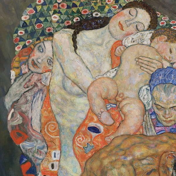 "Gustav Klimt, ""Death and Life,"" 1908–1916"