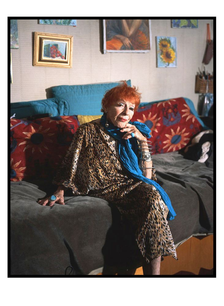 Ilona Royce-Smithkin (91) is a painter, a teacher and cabaret artist. She has lived in the West Village for over 50 years.