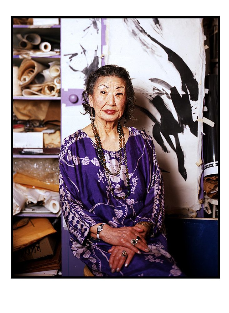 Koho Yamamoto (92) is a respected sumi-e artist and teacher who has lived in the West Village over 50 years.
