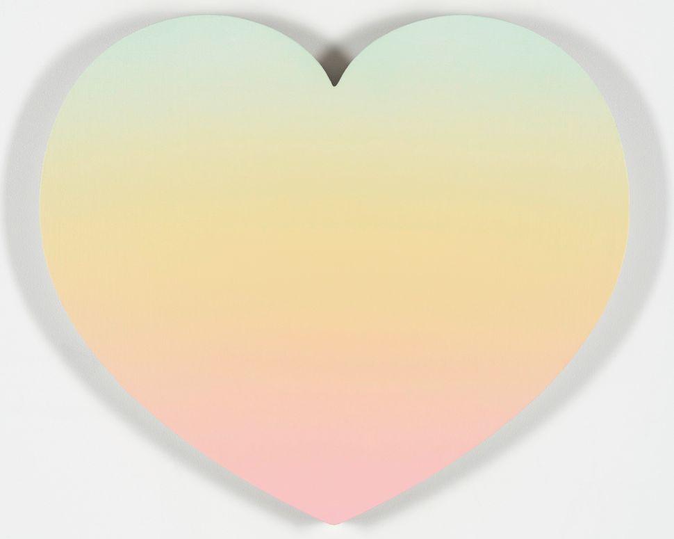 "Rob Pruitt Forever, 2015 Acrylic on linen 24 x 28"" $45,000"