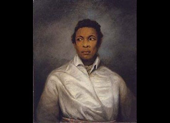 Ira Aldridge was the first African-American to grace the London stage.  Chukwudi Iwuji, the writer of this world premiere, se