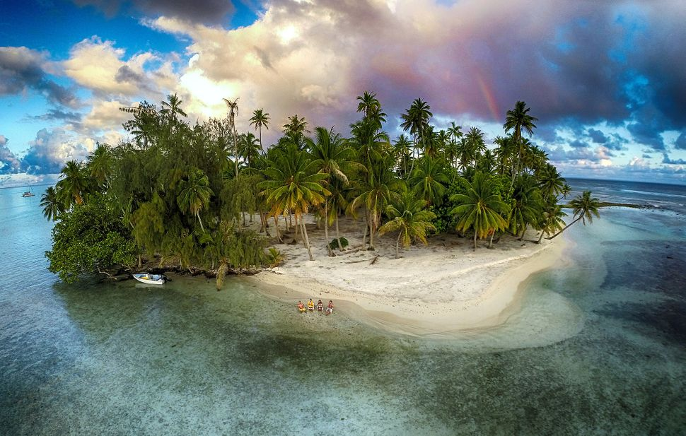"""Third prize in """"nature"""": Lost island, Tahaa, French Polynesia"""