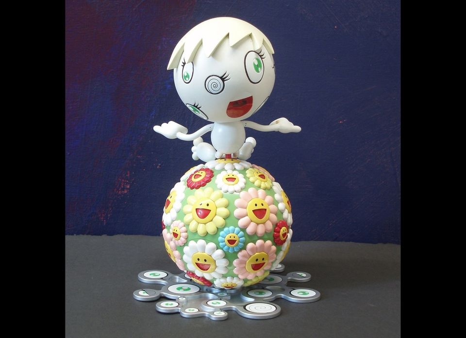 Takashi Murakami produced 'Mr. Wink' for the Peter Norton Family Christmas Art Project. It's a Christmas of Cool!