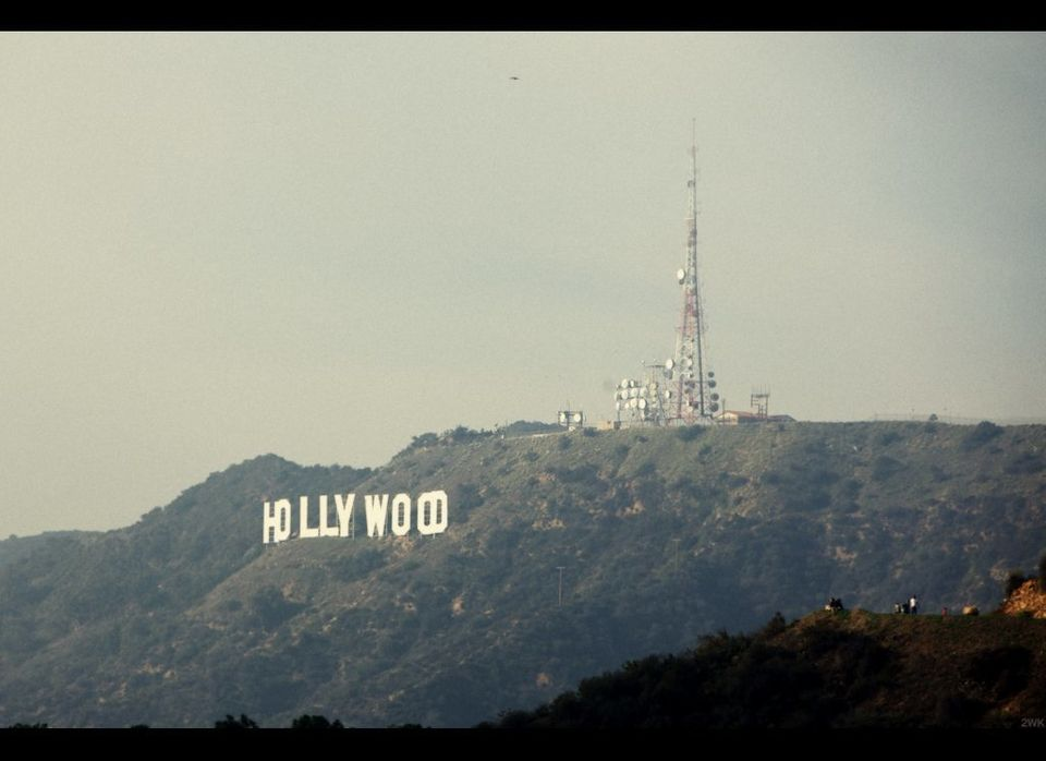 I went for a stroll around Griffith Park the other day.