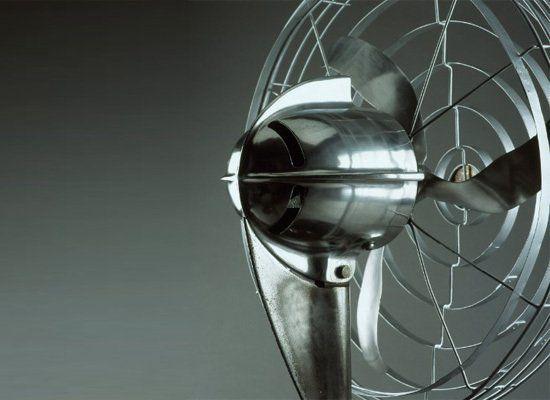 Robert Davol Budlong (1902 - 1955); Zephyr Fan (Model D22-TL); Designed c. 1936; Produced by Edgar T. Ward Co., Inc., Chicago