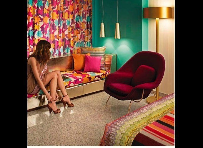 The much anticipated Hotel Missoni Kuwait is opening up now in March 2011, at the Symphony Building.   Scheduled to open in 2