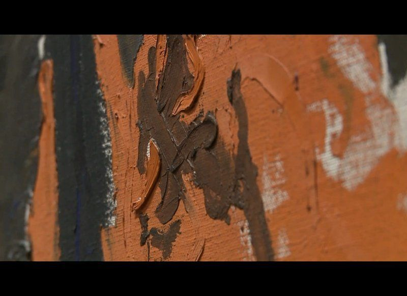 Film still from <strong>Clyfford Still: A Life in Paintings</strong>, an upcoming documentary on Clyfford Still, produced and