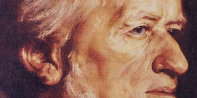 German composer Richard Wagner (1813-1883). New York Public LIbrary Picture Collection.